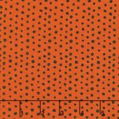 Cats, Bats and Jacks - Dots Orange Yardage
