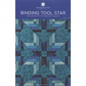 Binding Tool Star Quilt Pattern by MSQC