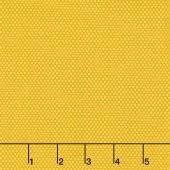 Bree - Tiny Dot Yellow Yardage