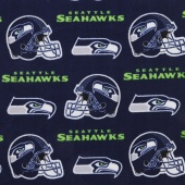 NFL Fleece - Seattle Seahawks Navy Yardage