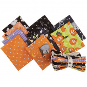 A Haunting We Will Glow Glow in the Dark Fat Quarter Bundle