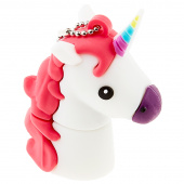 Tula Pink Unicorn 16GB USB Drive - White