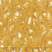 Giving Thanks - Wheat Harvest Metallic Yardage