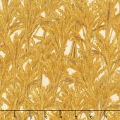 Giving Thanks - Wheat Harvest Metallic Yardage