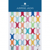 Jumping Jacks Quilt Pattern by MSQC