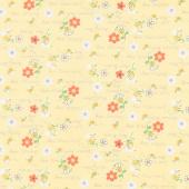 Sweet Bees - Bee Kind Yellow Yardage