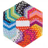 Kaffe Classics - Spot Candy Hexagons