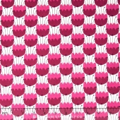 Enchanted - Tulips Plum Yardage