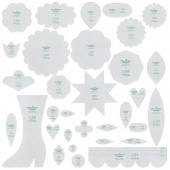 Lori Holt Granny's Garden Sew Simple Shapes Template