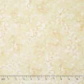 Wilmington Essentials - Vanilla Cream Scroll Dark Ivory Yardage