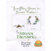 Susan Branch Bunny Hugs Digitally Printed Quilt Labels