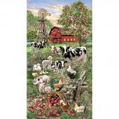 Farm Life - Animals on the Farm Multi Digitally Printed Panel