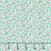 Dolly Jean - Tiny Blossom Aloe Yardage