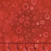 Artisan Batiks - Color Source 7 Circles Red Yardage