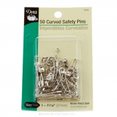 "Curved Safety Pins Size 1 - 1 1/16"" (50 ct)"