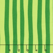 The Cat in the Hat Christmas - Seuss Stripe Evergreen Yardage
