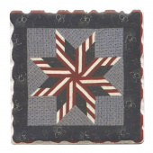 American Quilts Coaster - Stars & Stripes Star