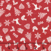 Scandi 5 - Christmas Scatter Yardage