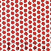 Hi - de - Ho! - Swishy Dots Red Yardage