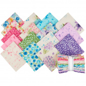 Natural Blooms Bright Fat Quarter Bundle