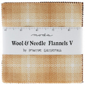 Wool and Needle Flannels V Charm Pack