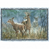 Winter Whispers - Deer Multi Panel