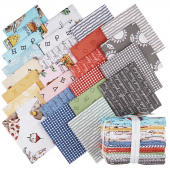 Hungry Animal Alphabet Fat Quarter Bundle