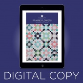 Digital Download - Prairie Flower Quilt Pattern by Missouri Star