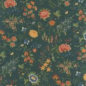 Prairie Dreams - Prairie Flowers Blue Yardage