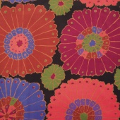 "The Kaffe Fassett Collective - Carpet Black 108"" Wide Backing"
