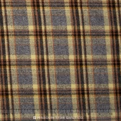 Mammoth Flannel - Plaid Maize Yardage