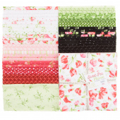 "Sweet Pea Favorites Flannel 10"" Squares"