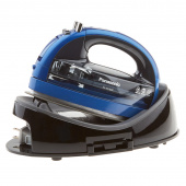 Panasonic 360 Freestyle Cordless Ceramic Sole Plate Iron - Blue