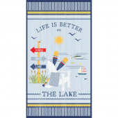 Lake Life - Large Multi Panel