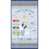 Lake Life - Large Multi Panel