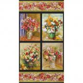 Renoir - Flowers Nature Digitally Printed Panel