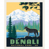 National Parks - National Park Denali Panel