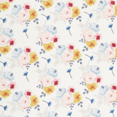 Blooms and Bobbins - Main Cream Yardage
