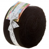 Bella Solids Black Oreos Jelly Roll