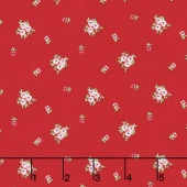 A Little Sweetness - Sweetness Vintage Red Yardage