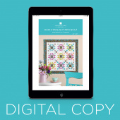 Digital Download - Ohio Starlight Mini Quilt Pattern by Missouri Star