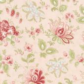 Porcelain - Jacobean Blossom Yardage