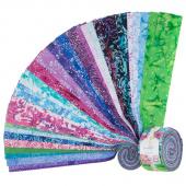 Blossom Batiks - Splash Pixie Strips