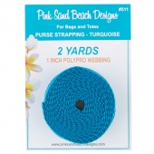Purse Strapping - Turquoise