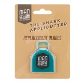 Man Sewing Shark Applicutter Rotary Cutter Replacement Blades