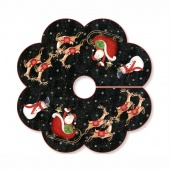 Up On a Rooftop Table Topper or Tree Skirt Kit