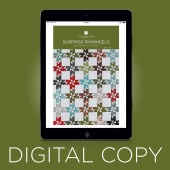 Digital Download - Surprise Pinwheels Quilt Pattern by MSQC