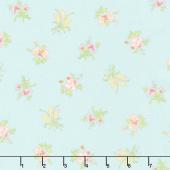 Bramble Cottage - Field Floral Mist Yardage