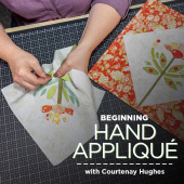 buy quilting product Beginning Hand Appliqué ECLASS0003