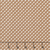 Autumn Love - Gingham Nutmeg Yardage